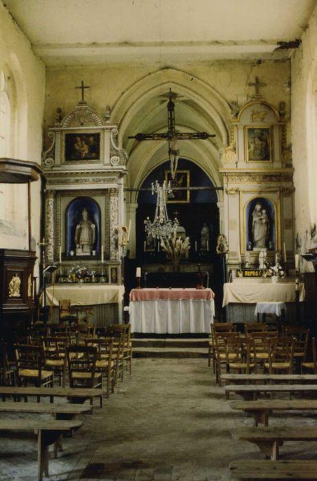 Eglise Saint-Sulpice: nef, vue générale