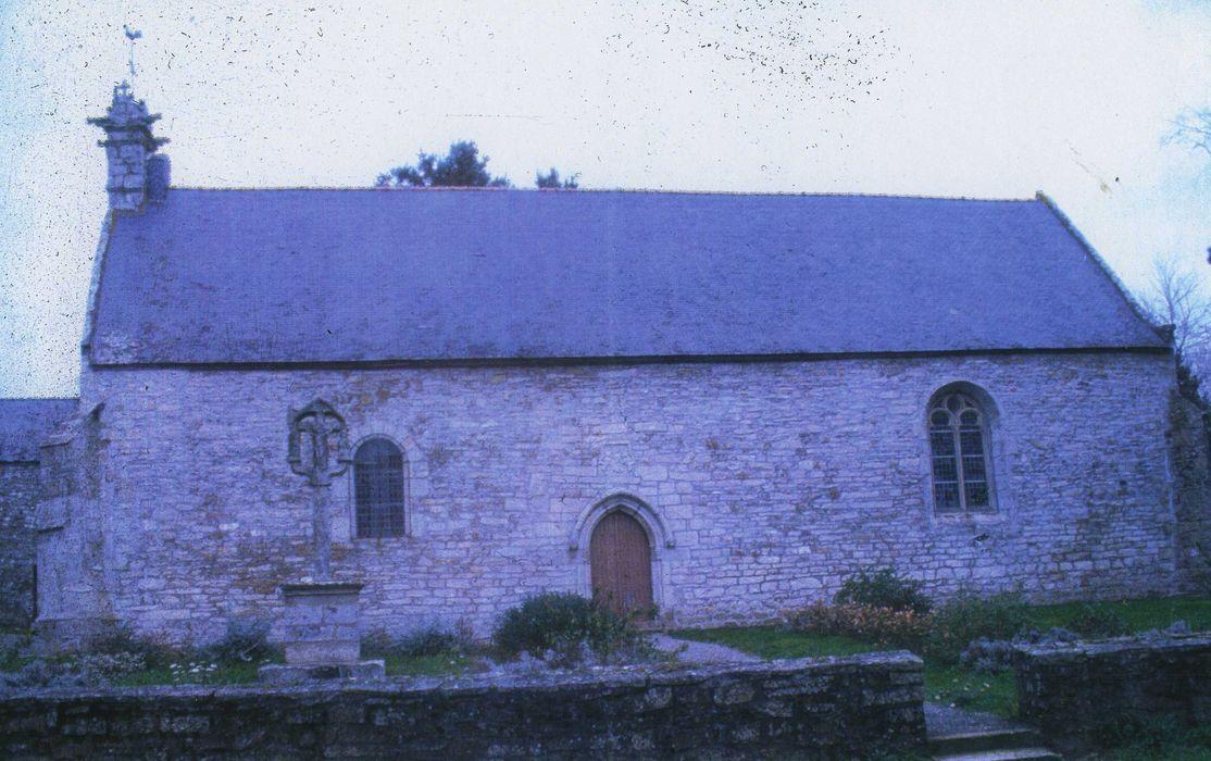 Chapelle Notre-Dame de Bon Secours de Mangolérian: Façade latérale sud, vue générale