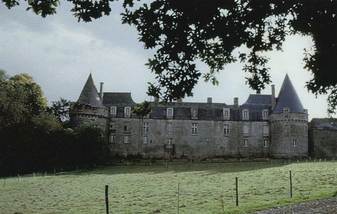 Château du Bois de la Roche: Ensemble nord, vue générale