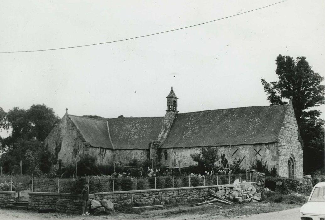 Chapelle de Locmaria: Ensemble nord, vue générale
