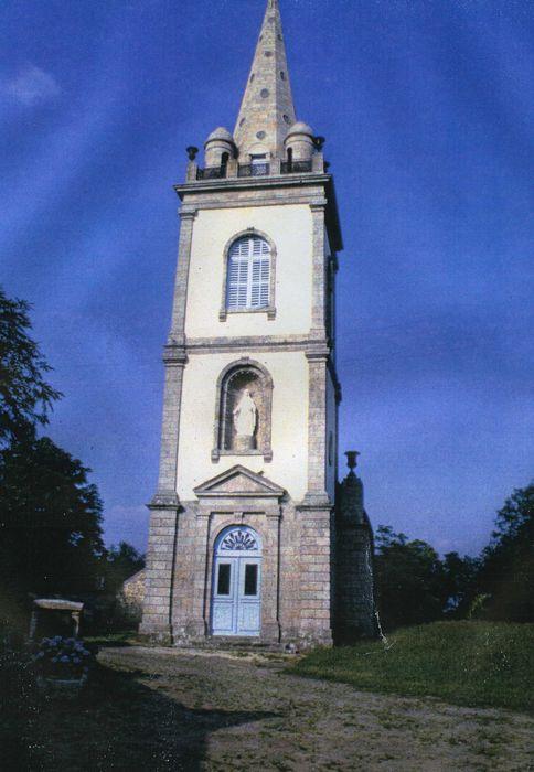 Chapelle Notre-Dame de Crénénan: Façade occidentale, vue générale