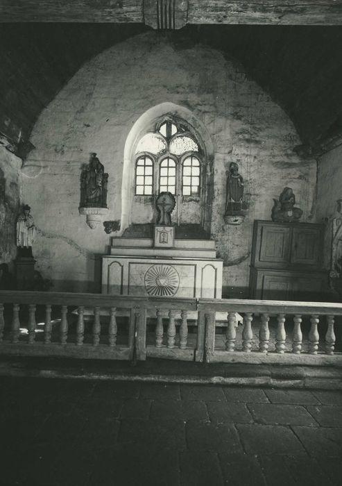 Chapelle Notre-Dame-du-Cloître: Choeur, vue générale