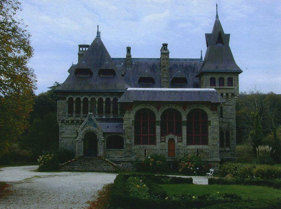 Villa Coëtihuel: Façade nord, vue générale