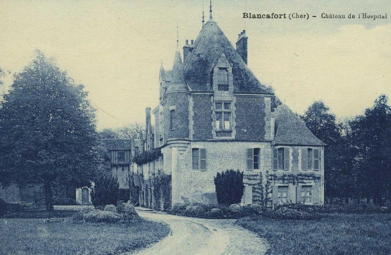 Château de l'Hospital-du-Fresne, ancienne commanderie de templiers