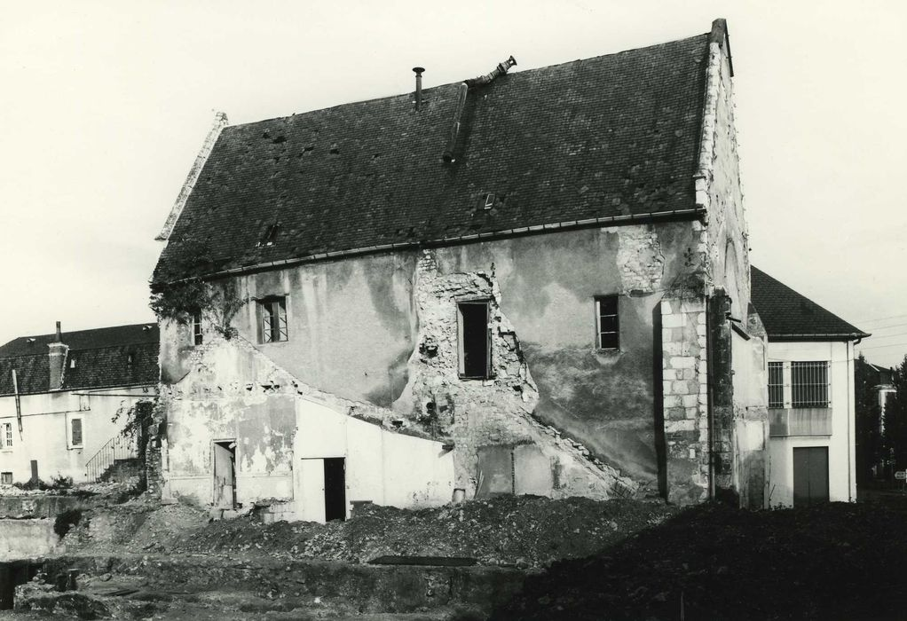 Ancien prieuré Saint-Martin-des-Champs: Façade latérale sud, vue générale
