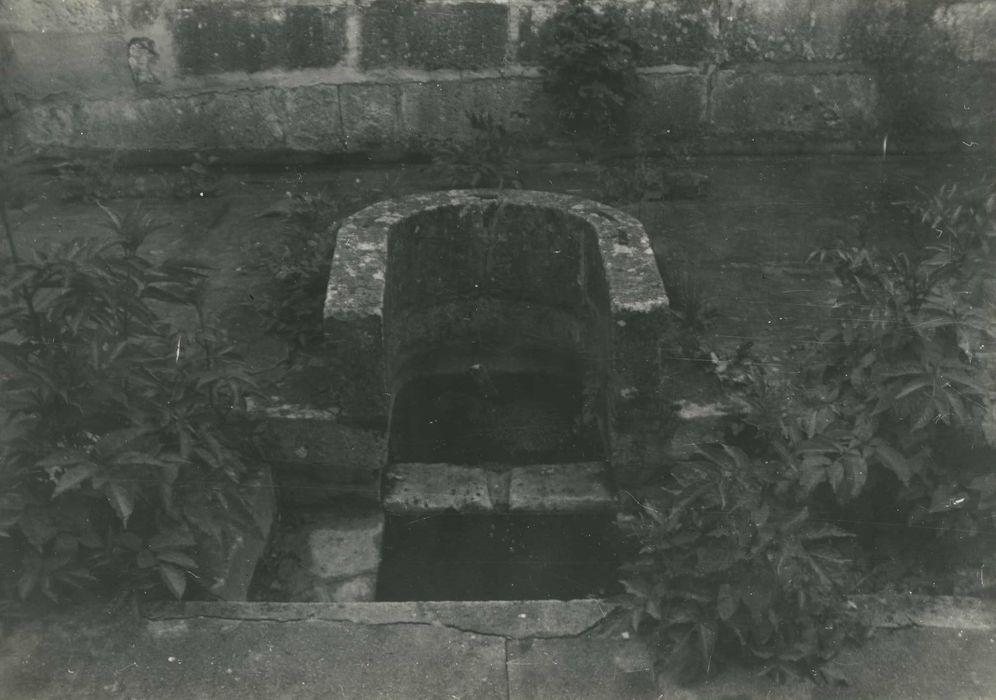 Fontaine de Fer, ou fontaine Saint-Firmin: Vue partielle