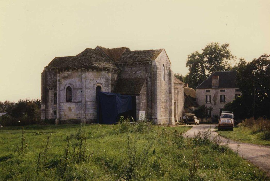 Eglise du prieuré Saint-Etienne d'Allichamps