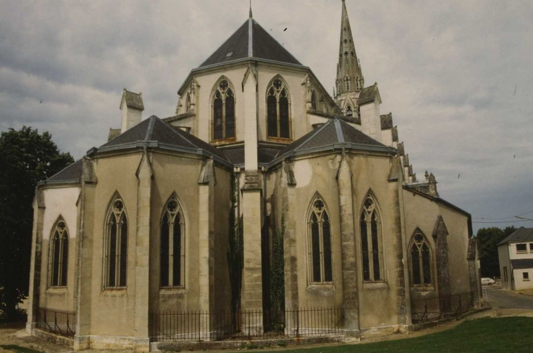 Eglise Notre-Dame: Chevet, vue générale