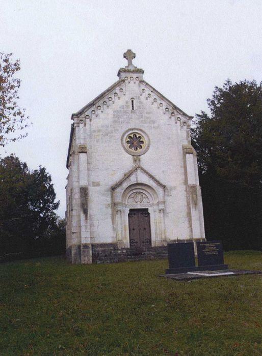 Chapelle Notre-Dame de Liesse et de Consolation: Façade est, vue générale