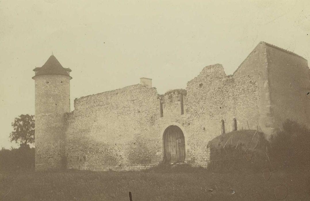 Ancien château d'Aigues-Mortes: Ensemble sud, vue générale