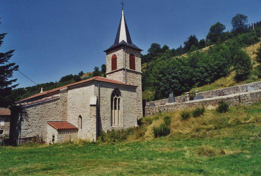 Abbaye Notre-Dame de Clavas: Ensemble sud-est, vue générale