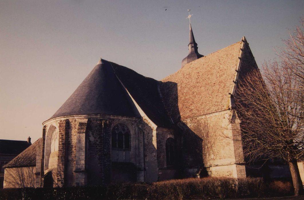 Eglise Saint-Hilaire: Ensemble nord-est, vue générale