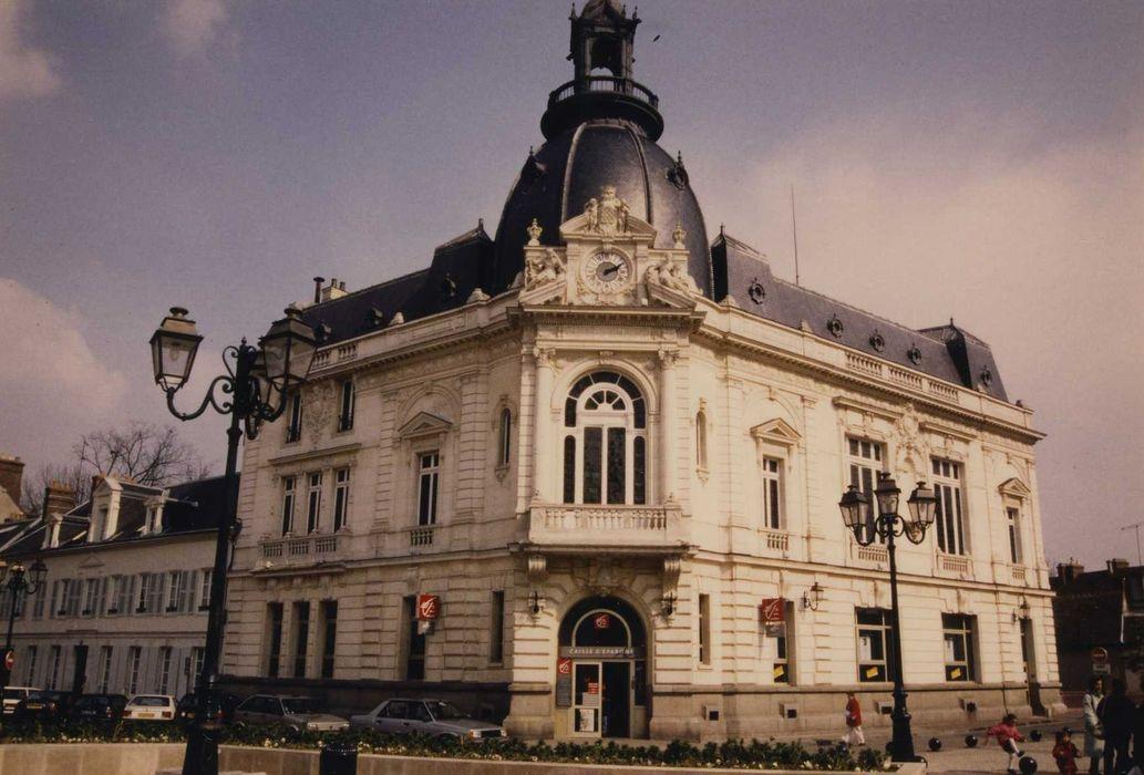 Hôtel de Caisse d'Epargne: Ensemble nord-ouest, vue générale