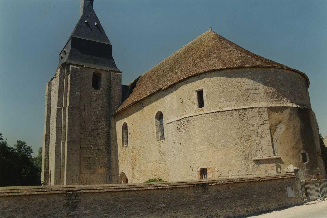 Eglise Saint-Martin: Ensemble nord-est, vue générale