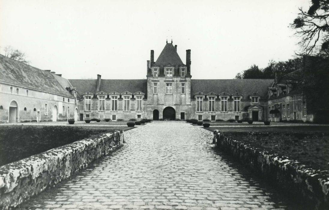 Château du Jonchet: Ensemble nord-ouest, vue générale