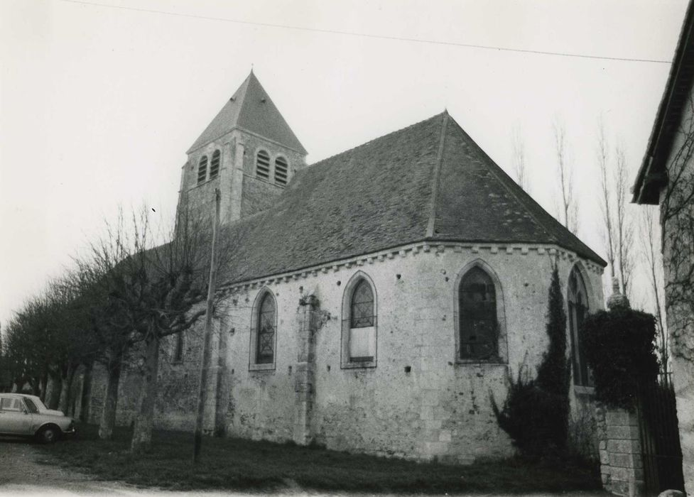 Eglise Saint-Georges: Ensemble sud-est, vue générale