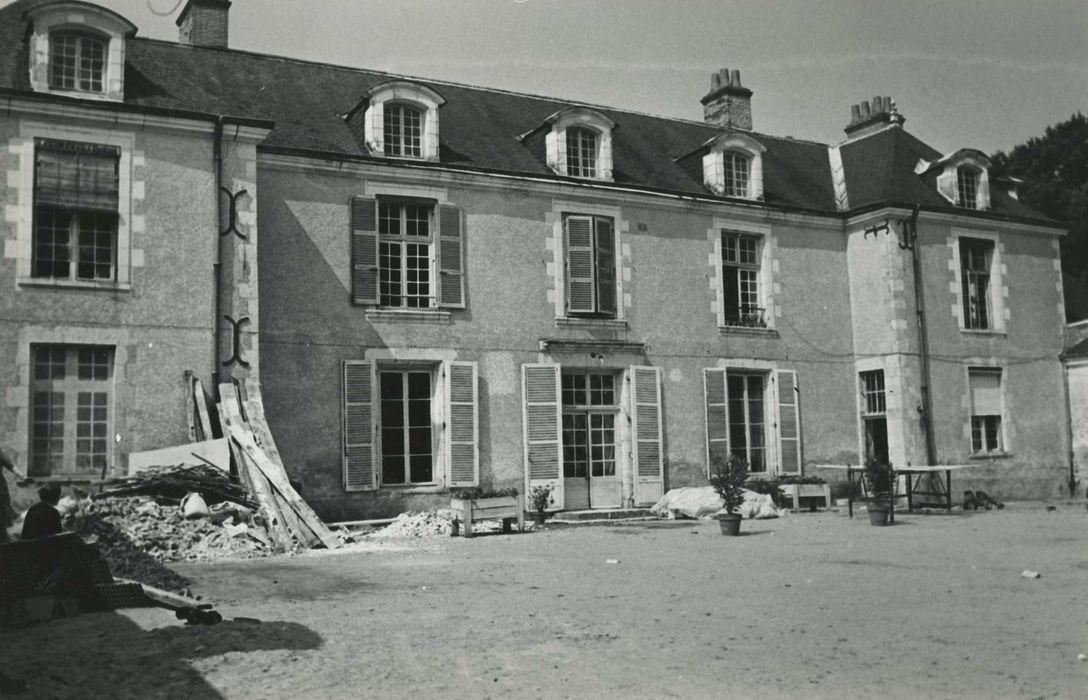 Château de Boisgibault: Façade est, vue générale