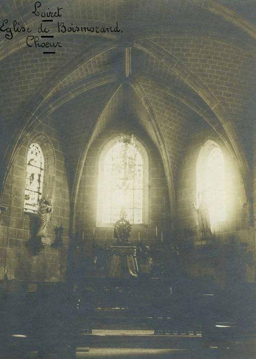 Eglise Saint-Vrain: Choeur, vue générale