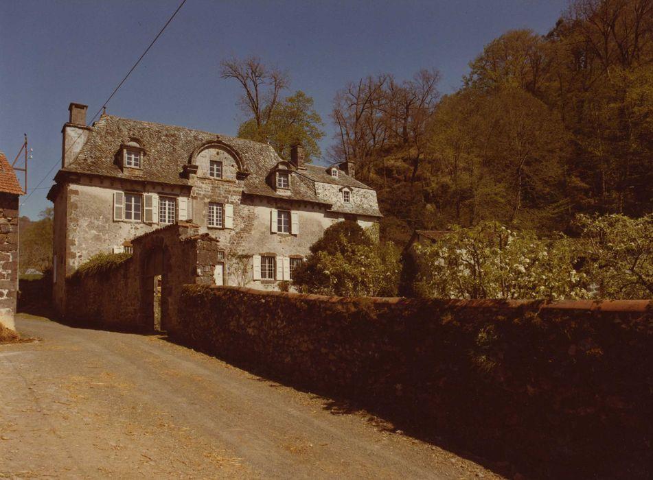 Château de Clavières: Ensemble ouest, vue générale