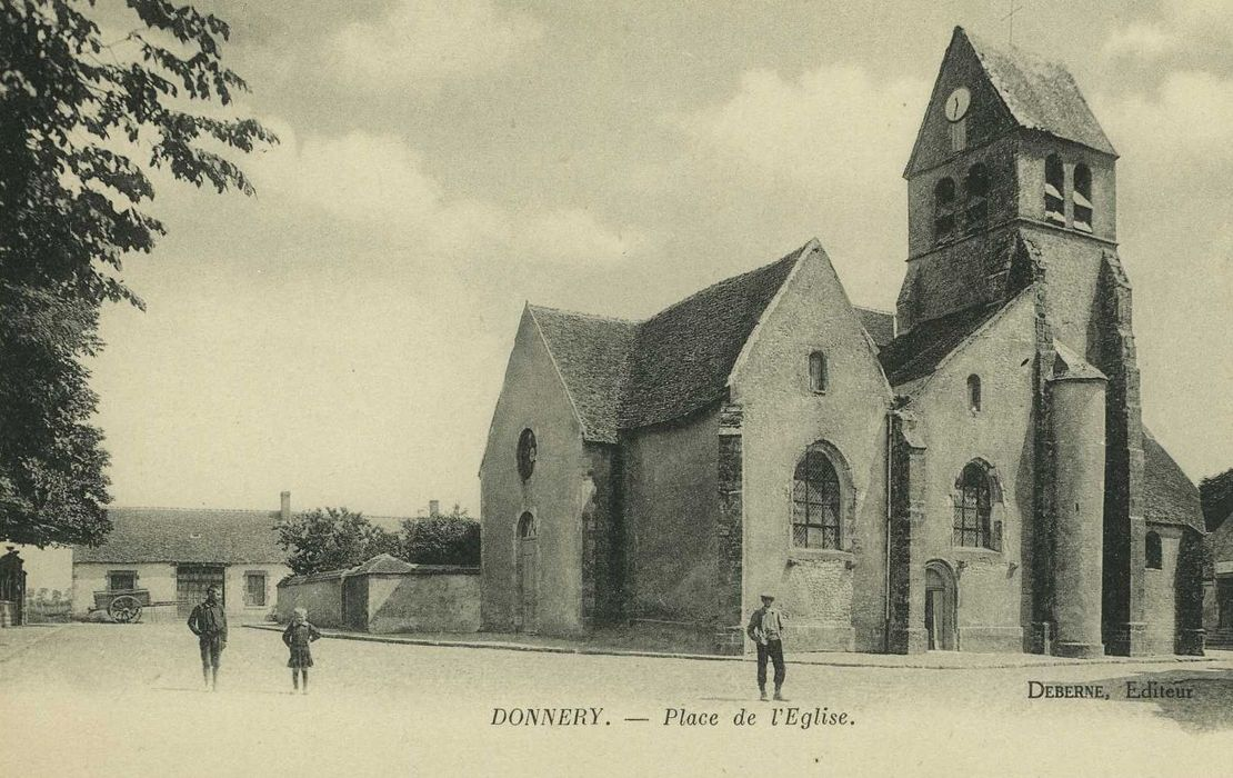 Eglise Saint-Etienne: Ensemble sud-ouest, vue générale