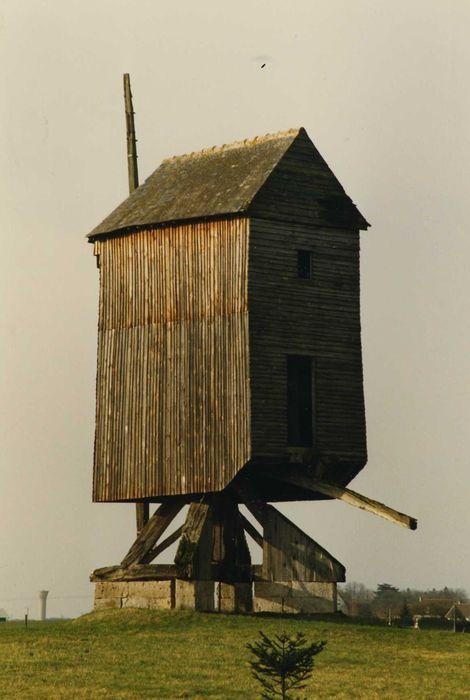 Moulin à vent de l'Epinay: Ensemble nord-est, vue générale
