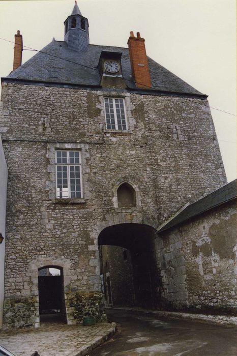 Porte d'Amont: Elévation nord-ouest, vue générale