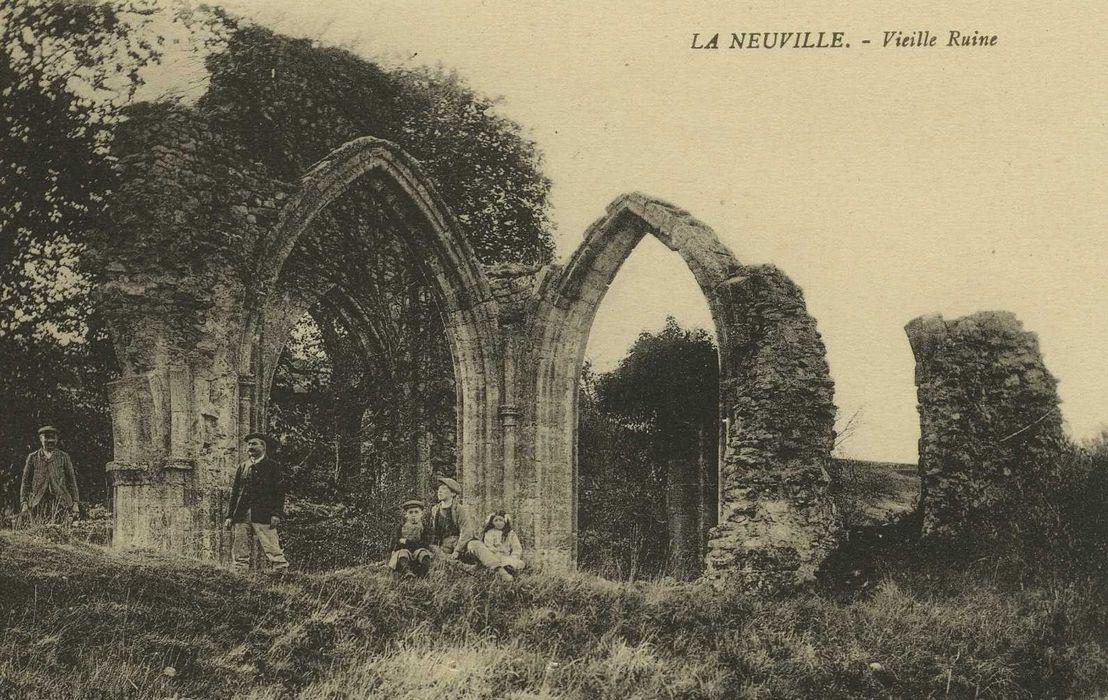 Eglise Saint-Sulpice de Ligerville: Vue générale des ruines