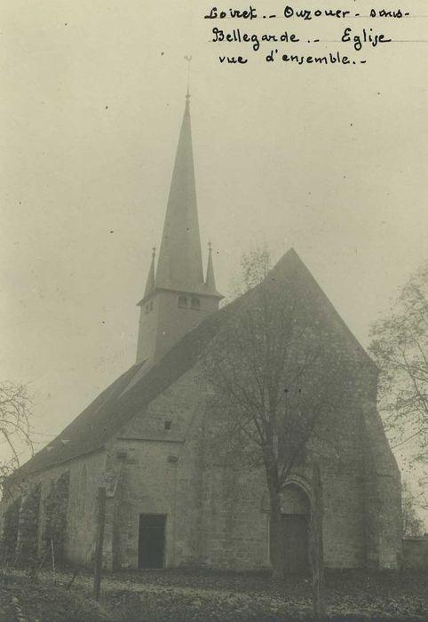 Eglise Saint-Denis: Façade occidentale, vue générale