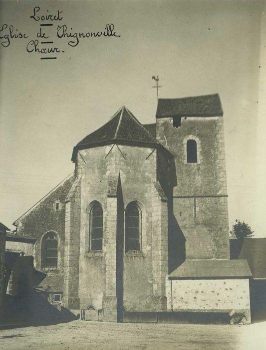 Eglise Saint-Pierre et Saint-Marcou: Chevet, vue générale