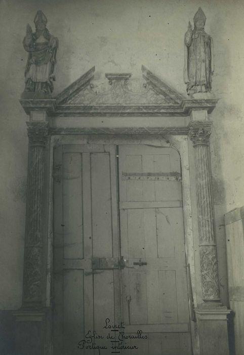 Eglise Saint-Jean-Baptiste: Portail occidental, vue générale