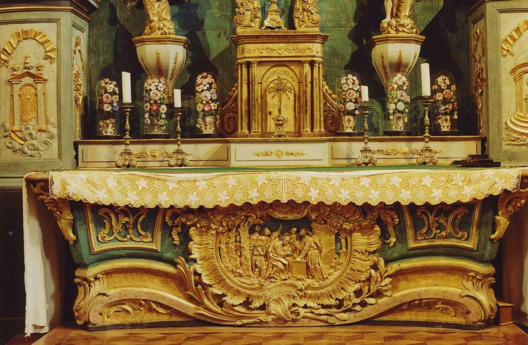 Autel de la Vierge.