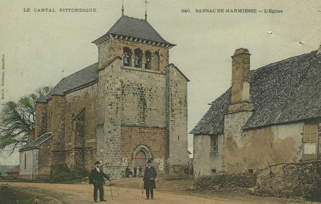 Eglise Saint-Sauveur: Ensemble nord-ouest, vue générale