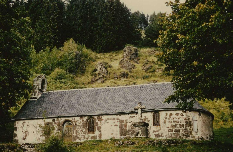 Chapelle Notre-Dame de Consolation: Façade latérale sud, vue générale