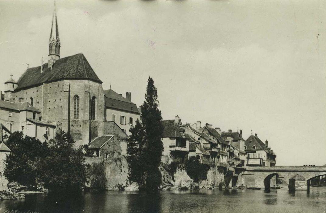 Chapelle Saint-Benoit: Ensemble sud-est, vue générale de la chapelle dans son environnement