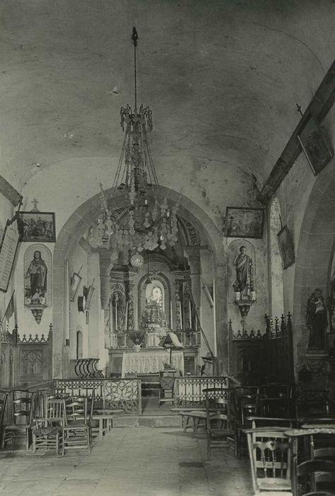 Retable du maître-autel et deux retables des chapelles latérales
