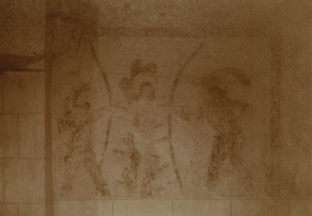 Eglise Saint-Pierre: Peintures monumentales, détail