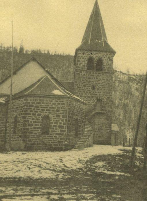 Eglise Saint-Etienne: Chevet, vue générale