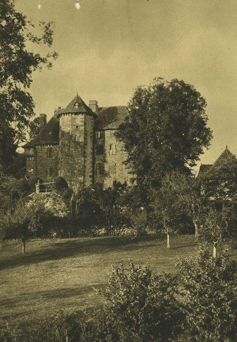 Château de Ragheaud: Ensemble sud, vue générale