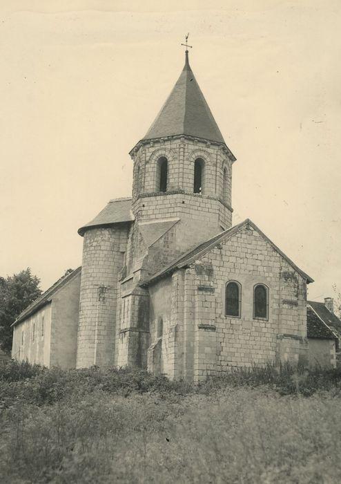 Eglise Saint-Vincent: Chevet, vue générale
