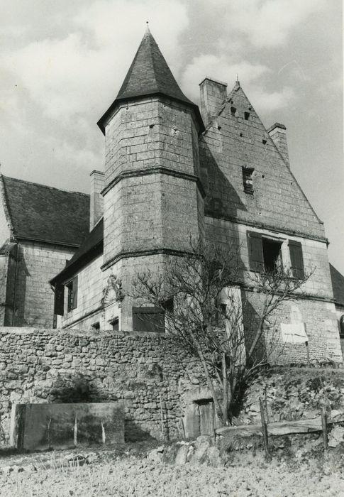 Maison d'habitation (ancien presbytère): Pignon sud, vue générale