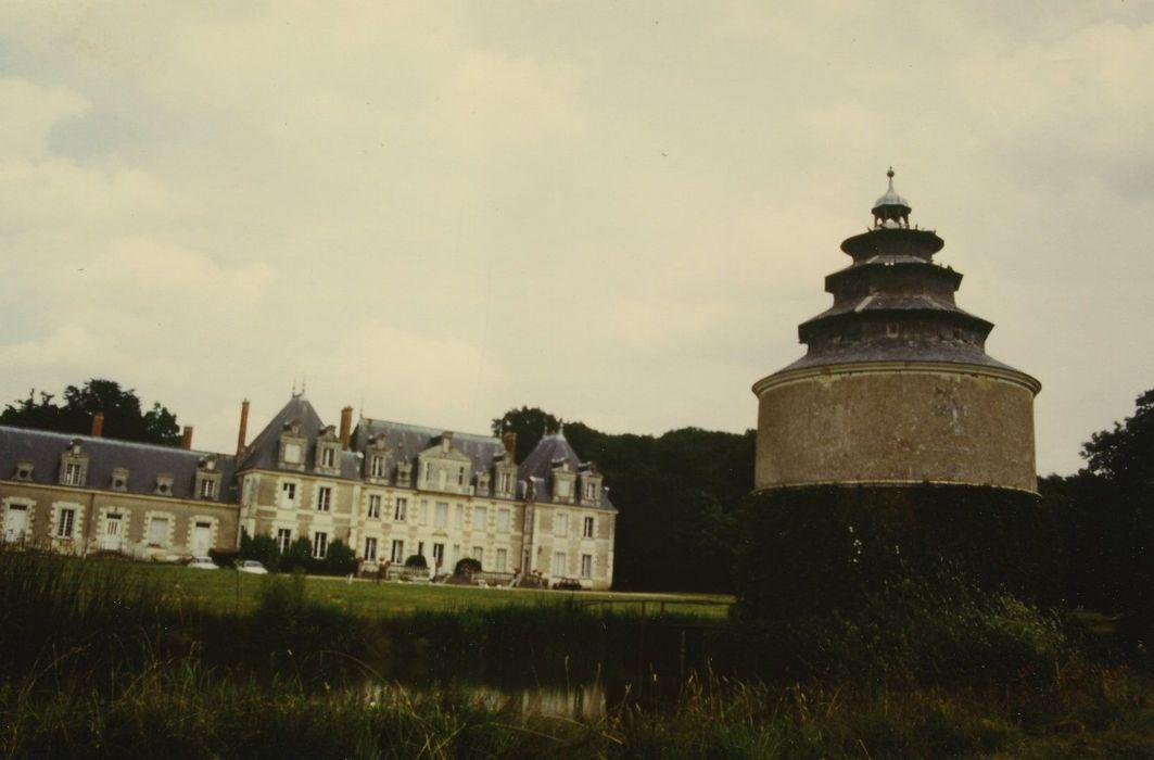 Château des Belles Ruries: Ensemble sud, vue générale