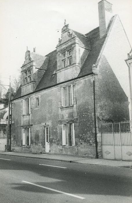 Maison dite La Ramée: Façade nord, vue générale