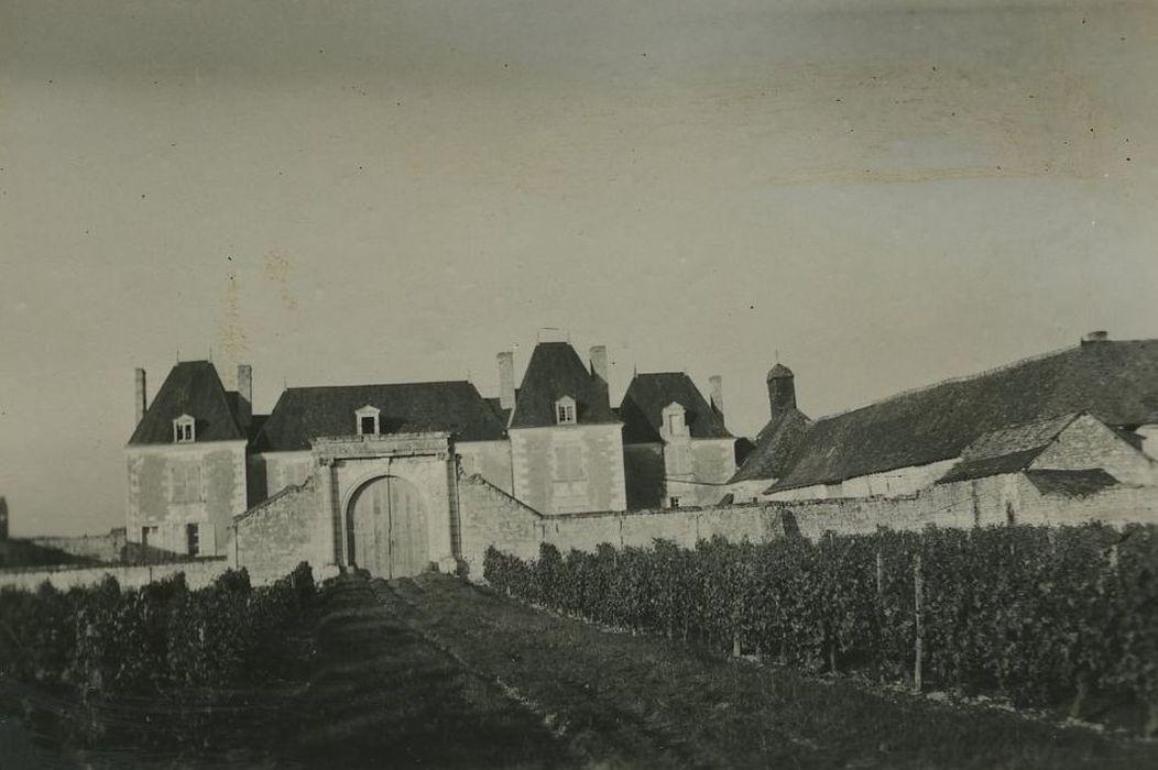 Château de Louy: Ensemble sud, vue générale