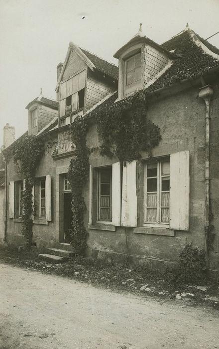 Maison d'Achille Millien: Façade sur rue, vue partielle