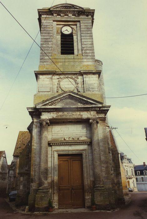 Eglise Saint-Sulpice: Façade occidentale