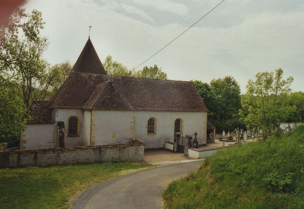 Eglise Saint-Vincent, ancienne chapelle seigneuriale du château de la Prye