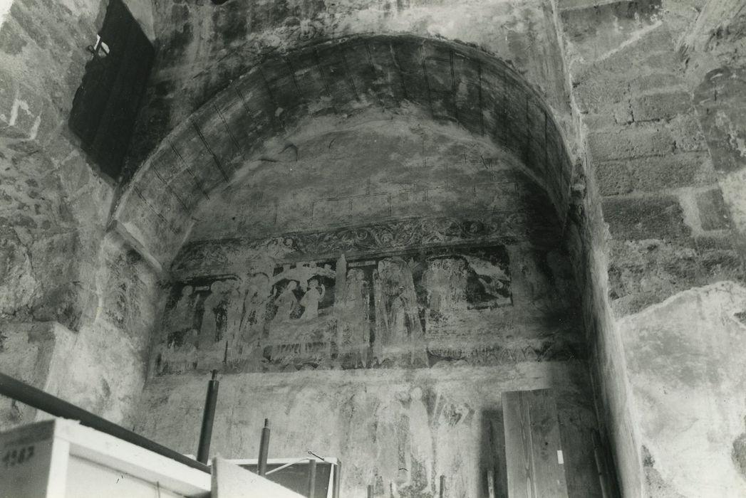 Baptistère Saint-Jean: Peintures monumentales, vue partielle