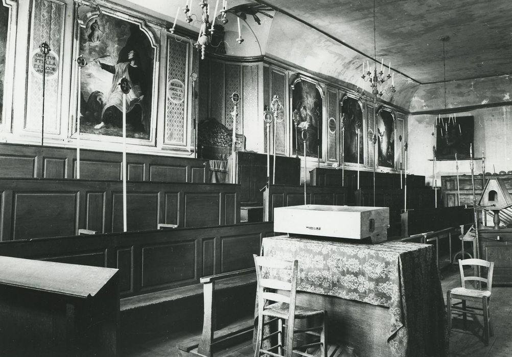 Chapelle des Pénitents Blancs: Choeur, vue générale
