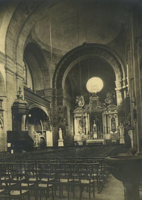 Eglise du collège ou église Saint-Georges: Nef, vue générale