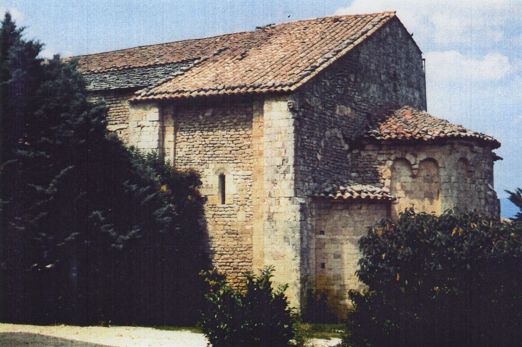 Ancienne abbaye Saint-Eusèbe: Ensemble sud-est, vue partielle